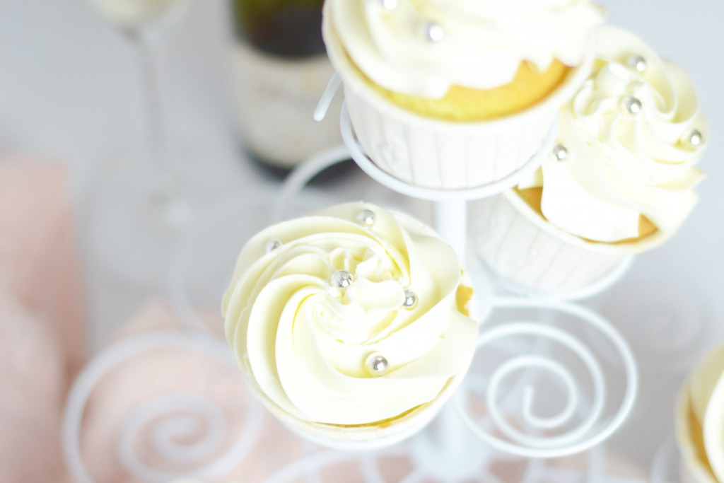 Prosecco Vanille Cupcakes