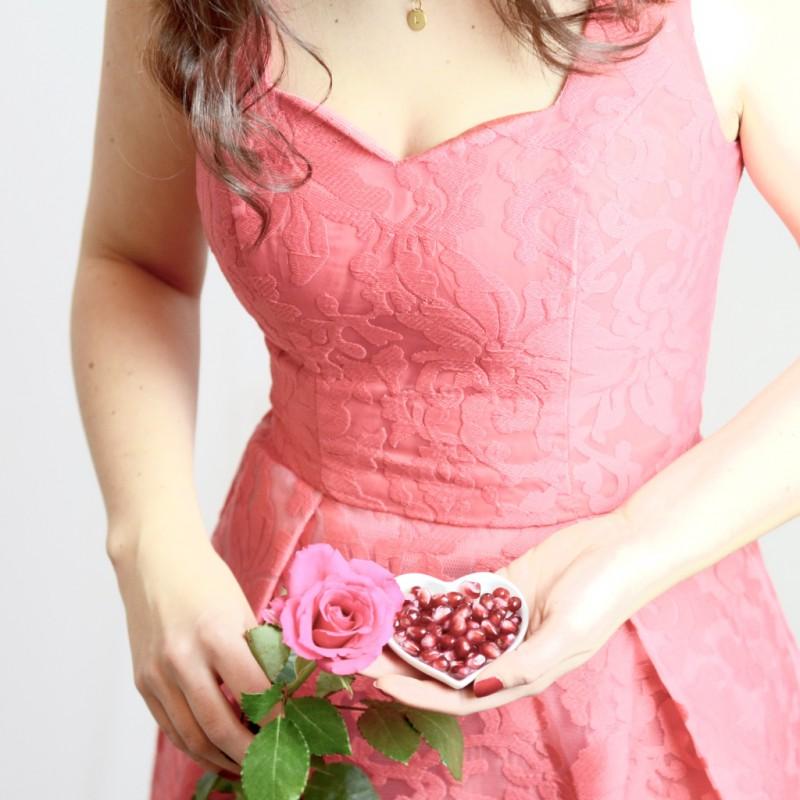 Rotes Kleid zum Valentinstag